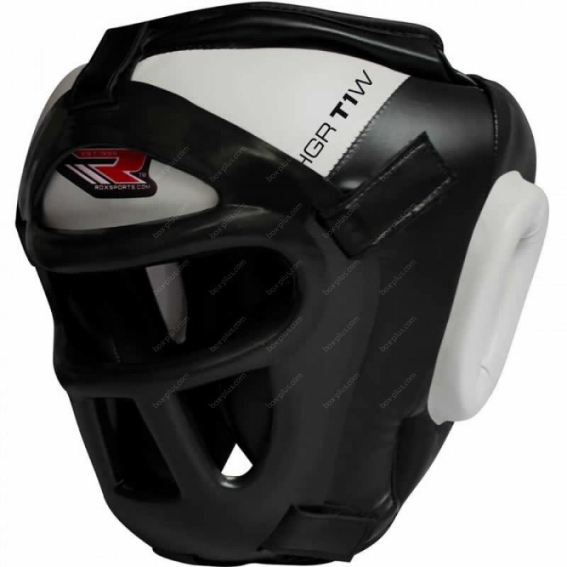 Боксерский шлем с защитой лица RDX Guard