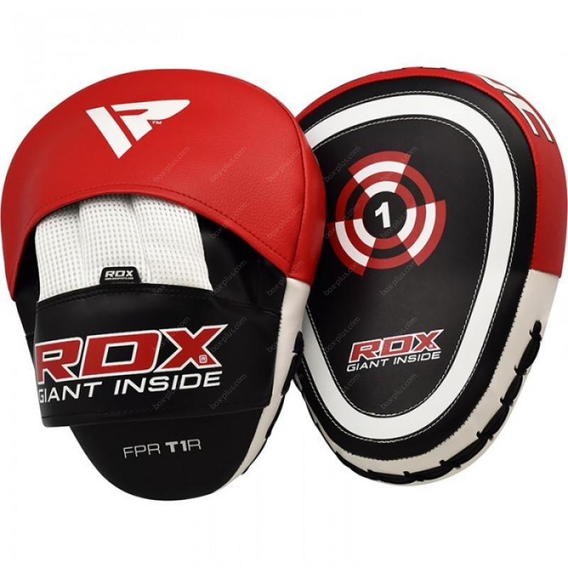 Боксерские лапы RDX Gel Focus Red