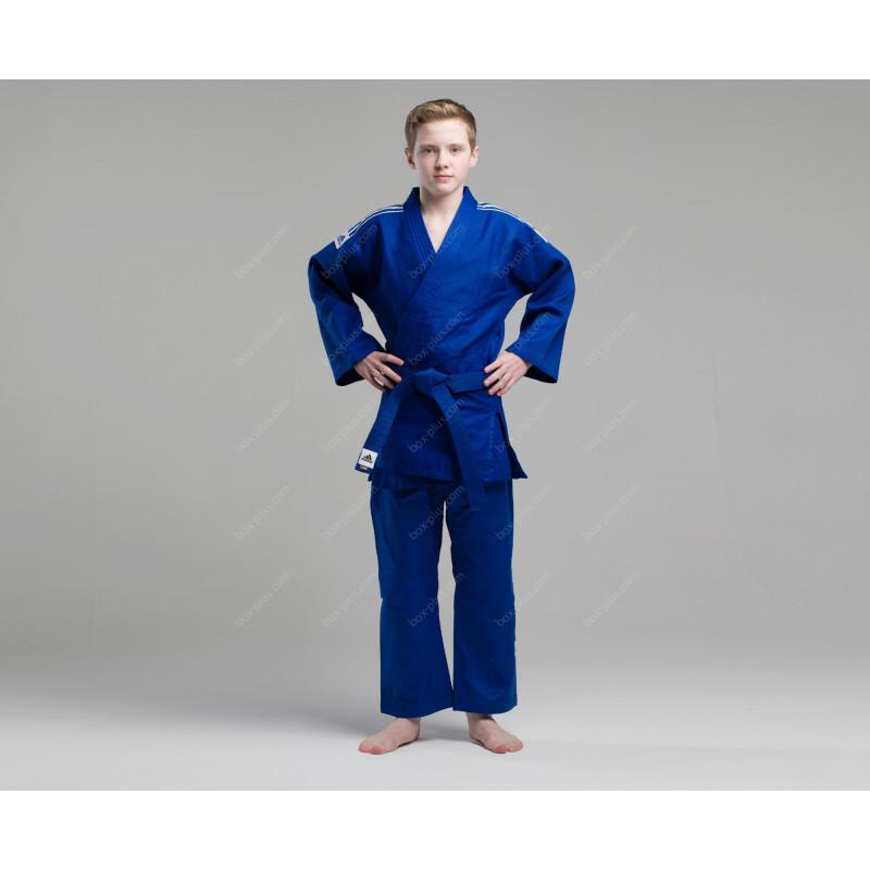 Кимоно для дзюдо Adidas J500 синее