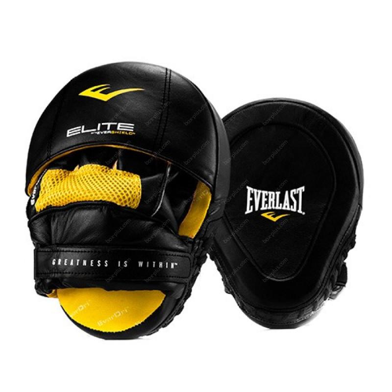 Лапы боксерские Everlast Elite Leather
