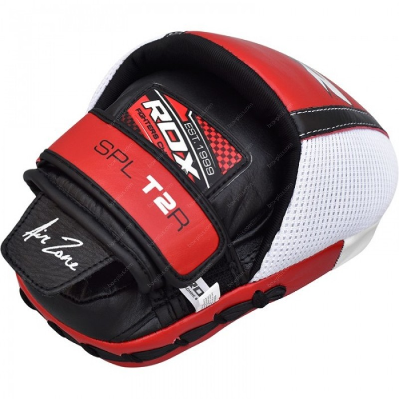 Лапы для бокса RDX Leather Red