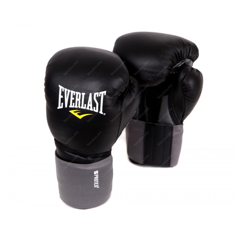 Перчатки боксерские тренировочные Everlast Protex2 Leather