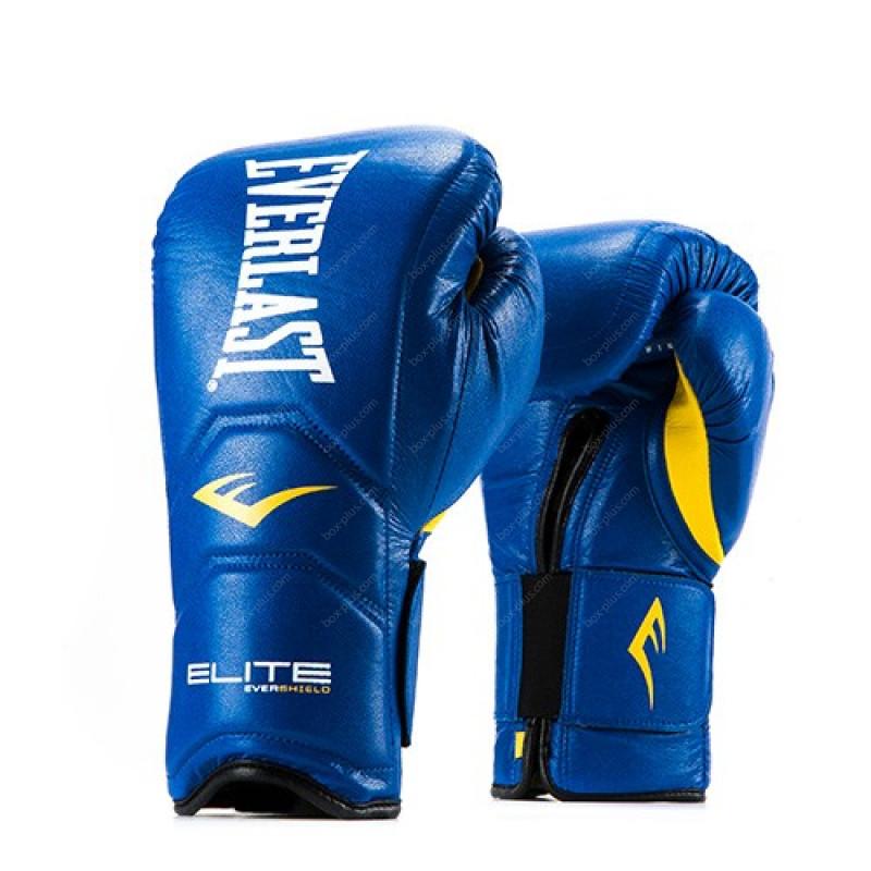 Перчатки на липучке Everlast Elite Pro