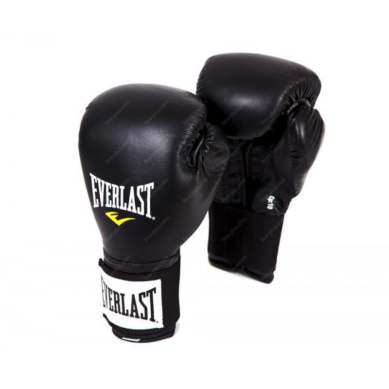 Перчатки боксерские тренировочные на липучке Everlast
