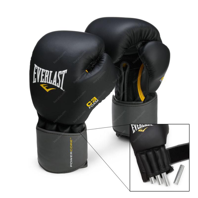 Снарядные перчатки с утяжелителем Everlast