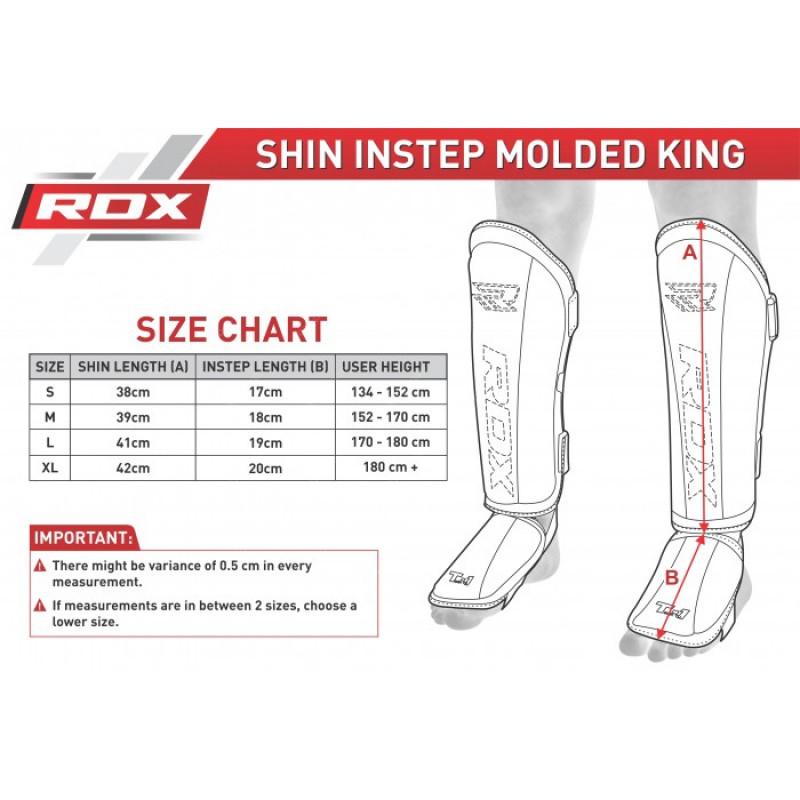 Накладки на ноги RDX Molded