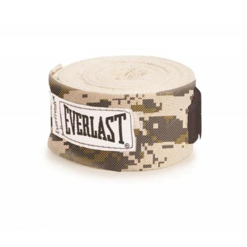Боксерский бинт Everlast Camouflage 4.55m