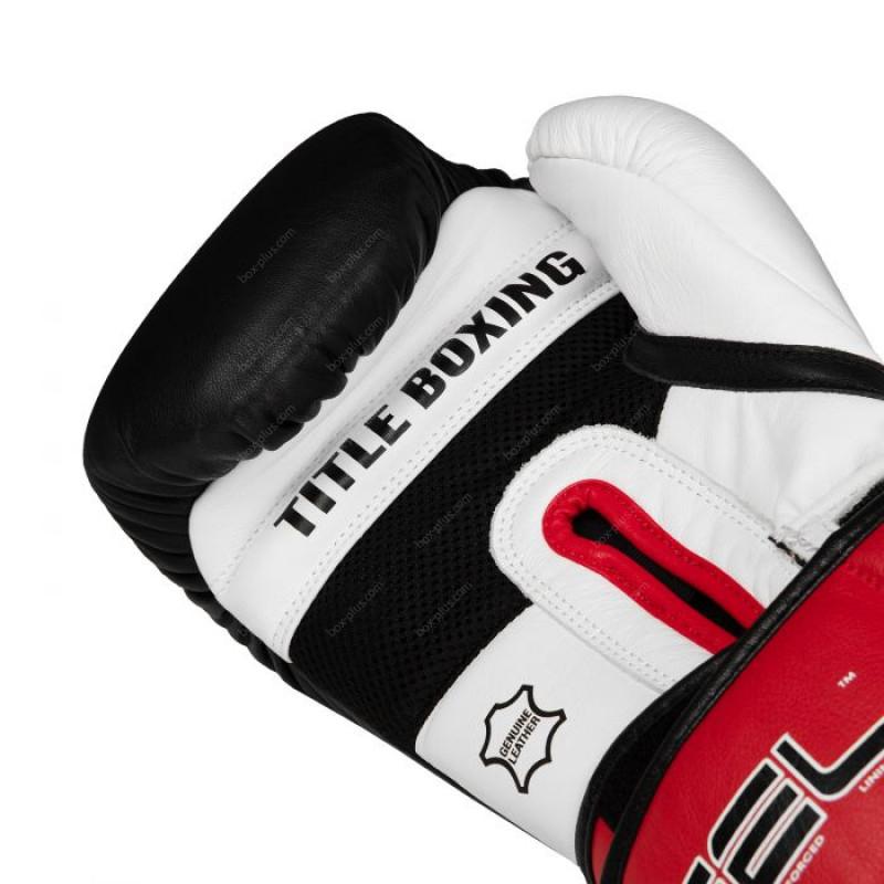 Перчатки для бокса утяжелители TITLE GEL Intense Loaded
