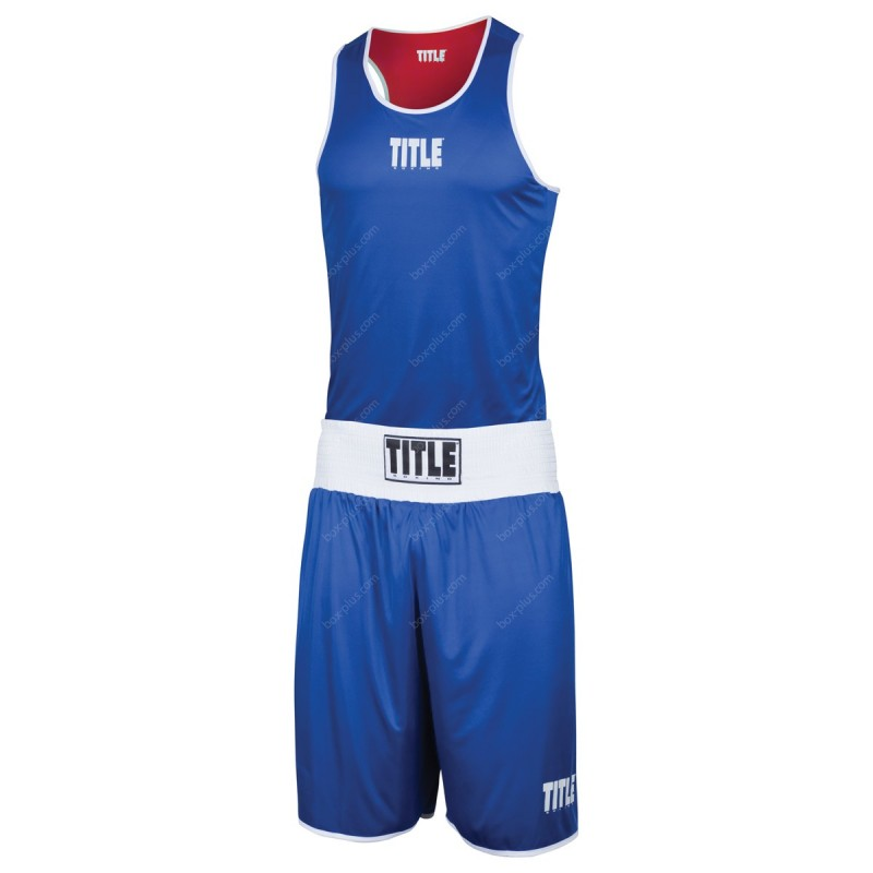 Форма боксерская двухсторонняя TITLE