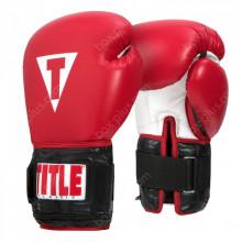 Боксерские перчатки с утяжелителями TITLE Power Weighted