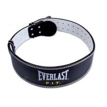 Тяжелоатлетический пояс Everlast Leather Lifting