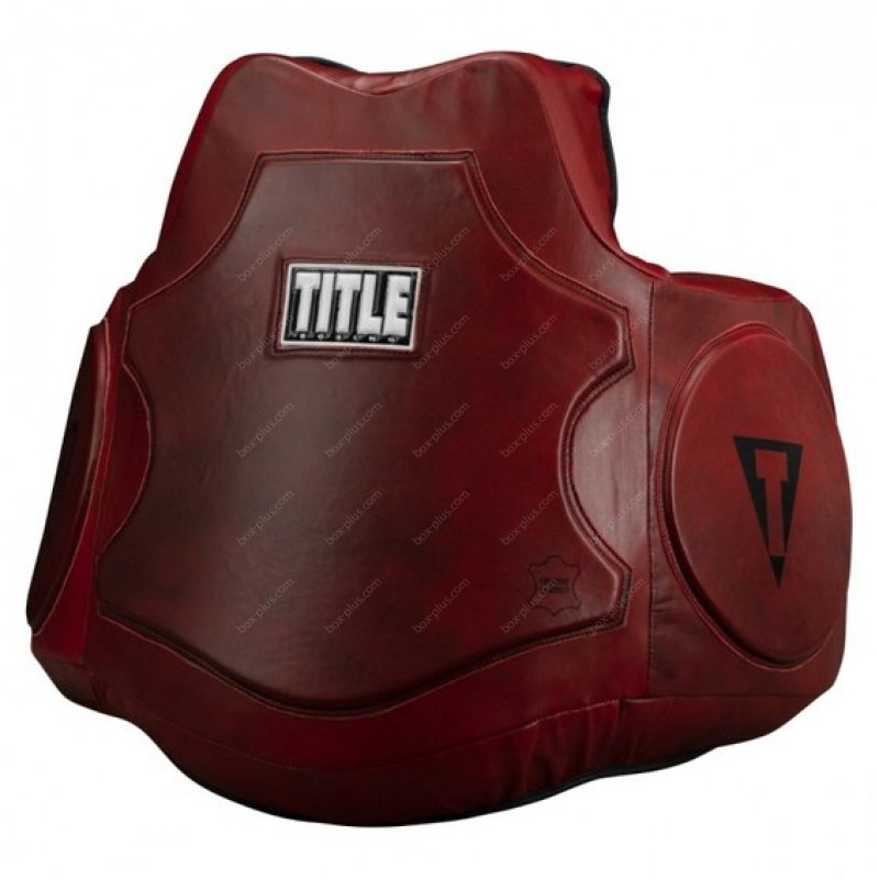 Защита корпуса TITLE Boxing Blood Red