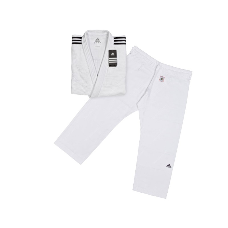 Кимоно дзюдо adidas Champion II IJF Slim Fit