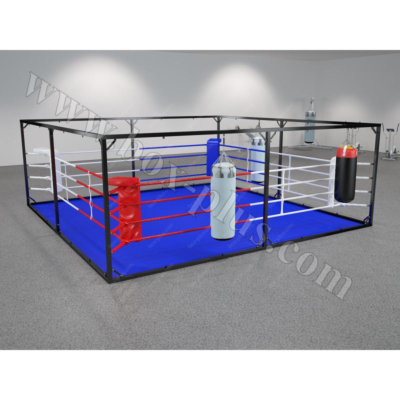 Боксерский ринг напольный КУБ