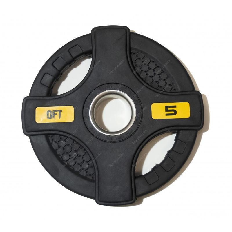 Обрезиненный диск с хватами